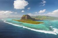 Der Berg Morne Brabant auf Mauritius