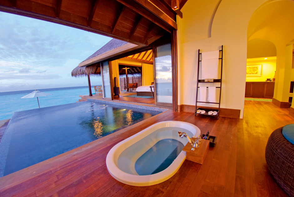 Over Water Pool Villa