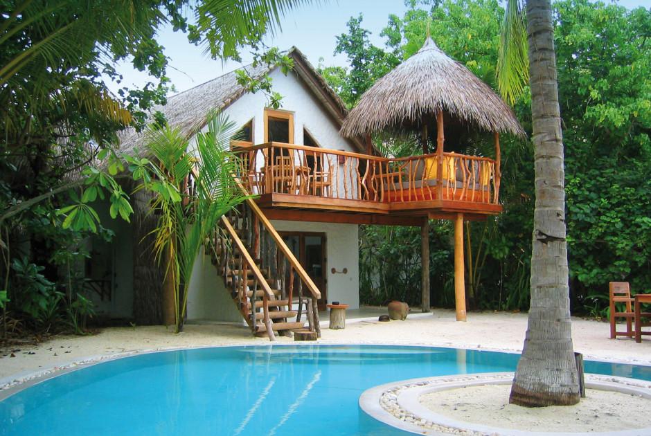 Crusoe Villa mit Schwimmbad