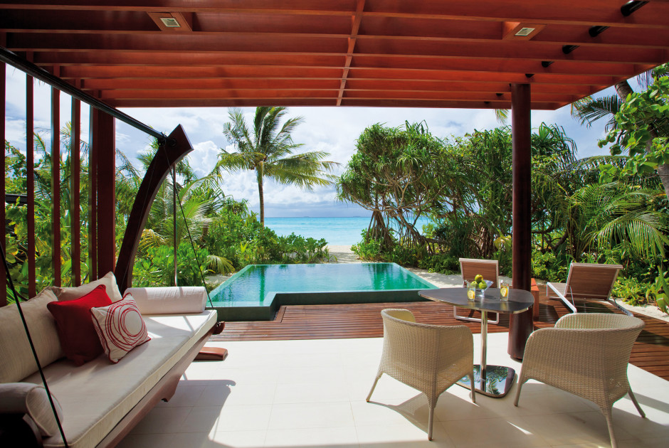 Beach Studio mit privatem Pool