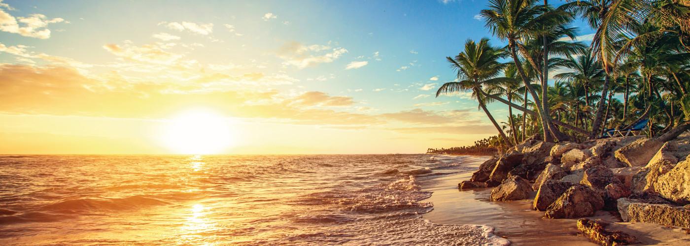 Îles de rêve dans les caraïbes