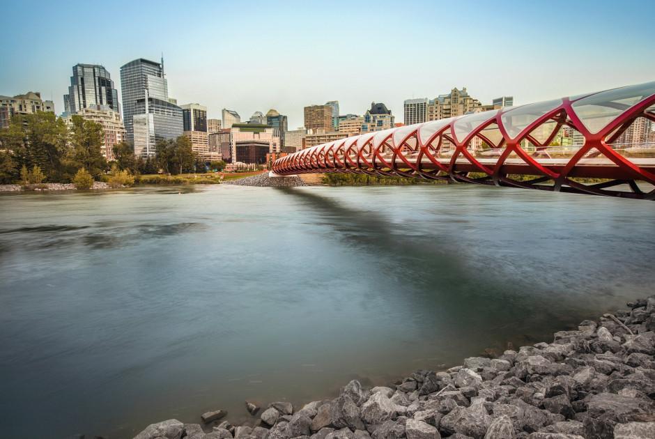 Friendensbrücke in Calgary
