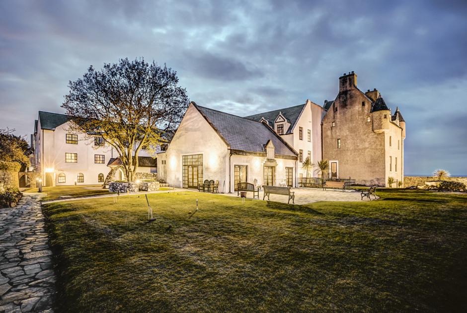 Ballygally Castle Hotel Belfast Surrounding Grossbritannien