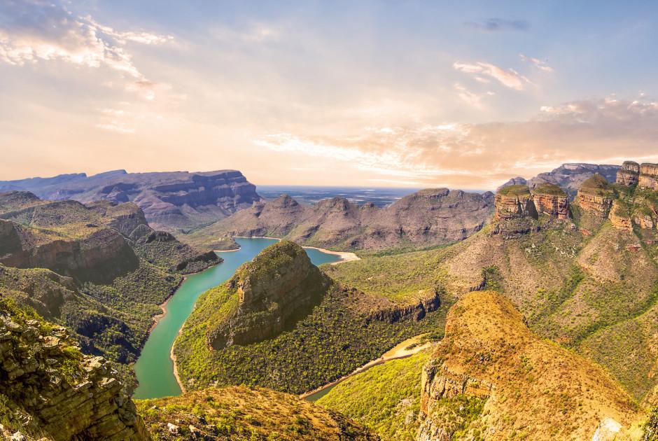 Der Blyde River Canyon in der Nähe von Johannesburg