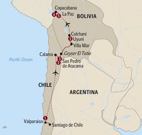 Santiago de Chile Reisen - Chile mit Travelhouse