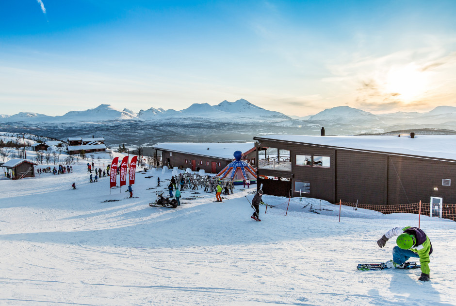 Wintersport im Målselv Mountain Village
