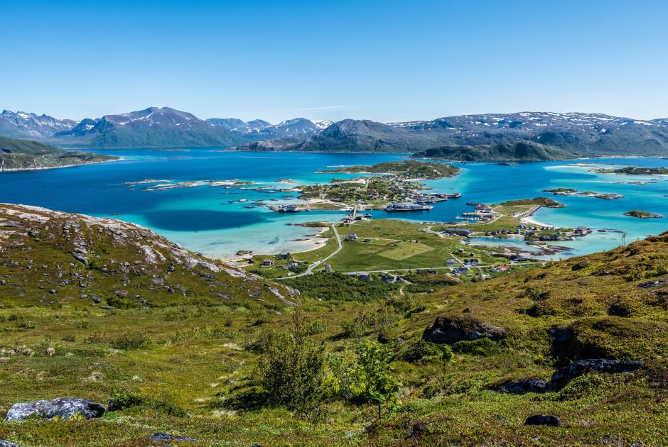 Aussicht über Sommarøy