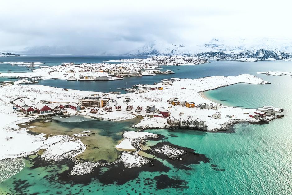 Das ehemalige Fischerdorf «Sommarøy»
