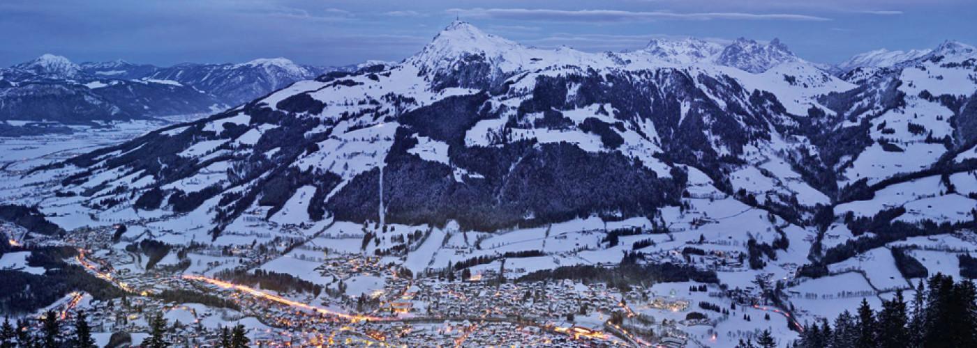 Vue sur Kitzbühel