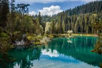Caumasee in der Gemeinde Flims