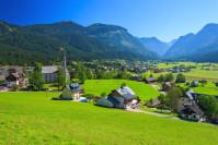 Das Dorf Gosau
