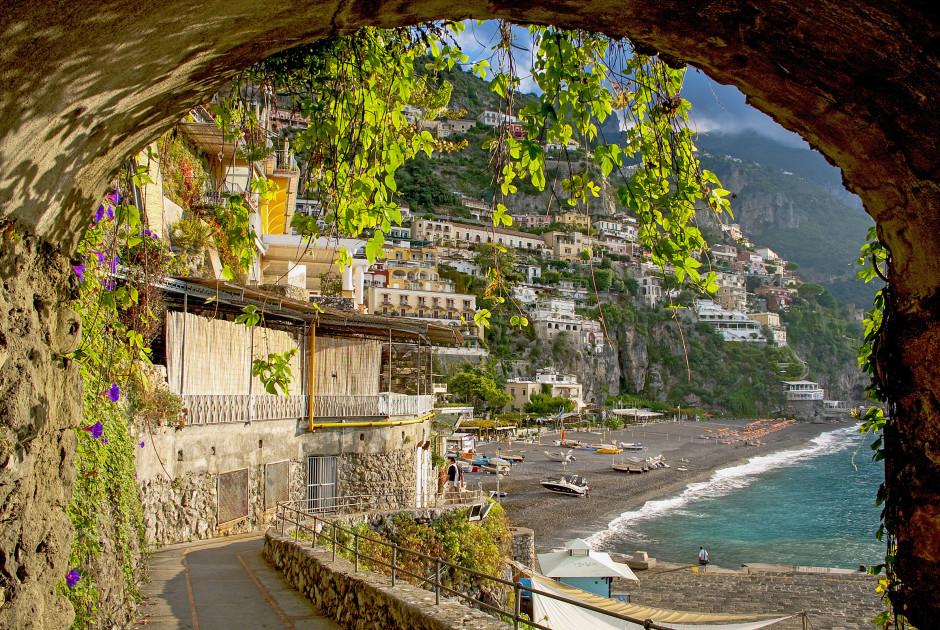 Positano an der Amalfiküste