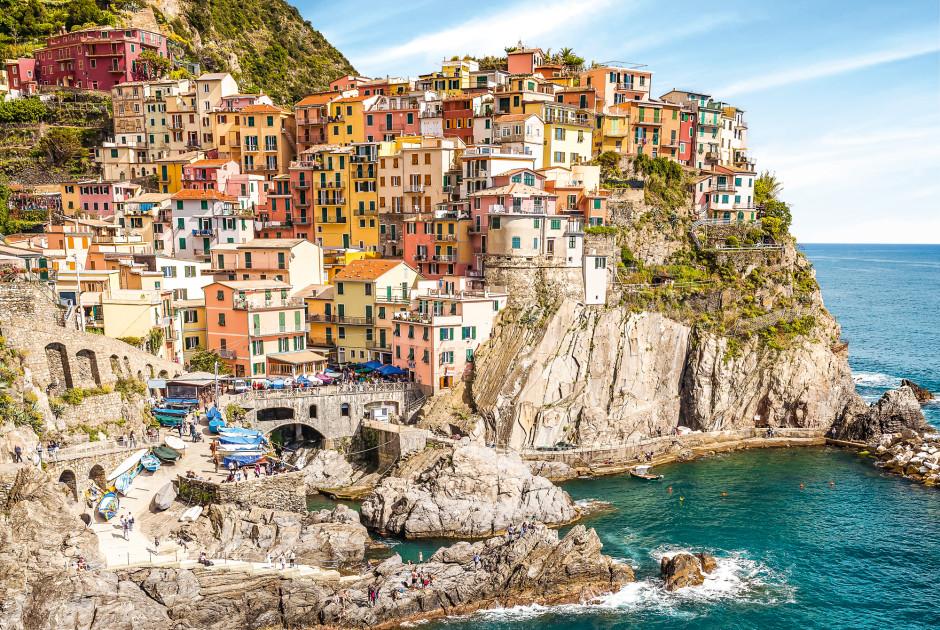 Malerische Wanderwege an der Ligurischen Küste