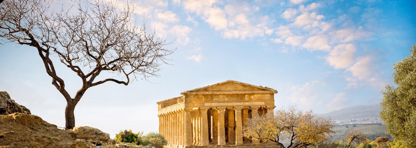 Tempel der Concordia, Agrigento