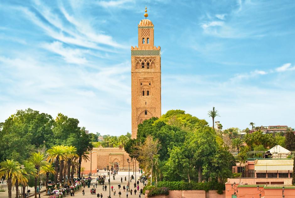 Hauptplatz von Marrakesch in der alten Medina