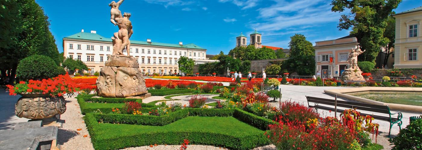 Schlossgarten, Schloss Mirabell