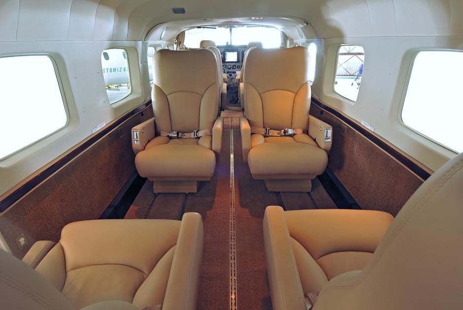 In der Cessna Grand Caravan