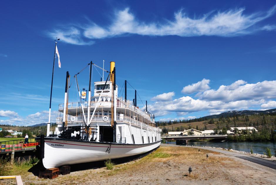 SS Klondike in Whitehorse