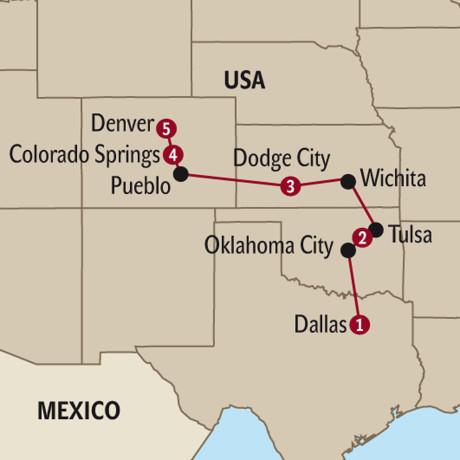 Dallas und Umgebung Reisen - USA mit Travelhouse