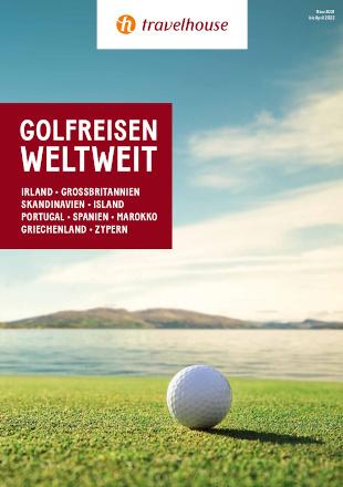 Broschüre Golfreisen Weltweit