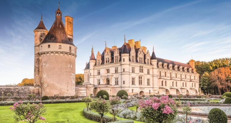 Garten des Château de Chenonceau