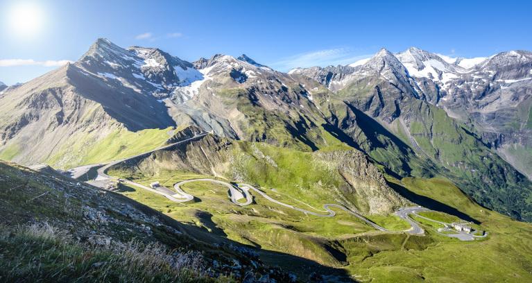 Alpenpass in Österreich