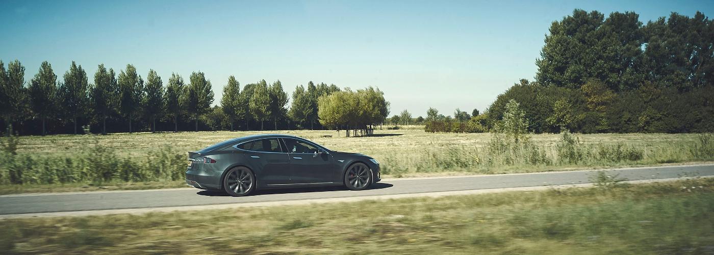 Im Tesla durch Italien