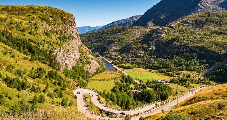 Alpenstrassen in Frankreich