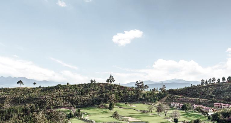 Golfplatz in Südafrika