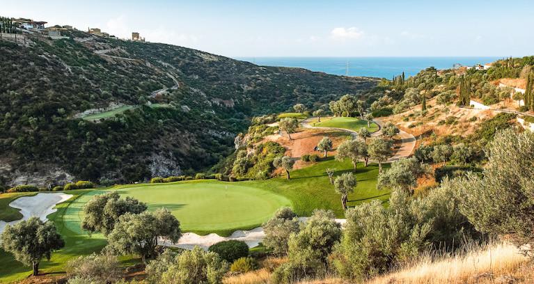 Golfplatz Aphrodite Hills auf Zypern