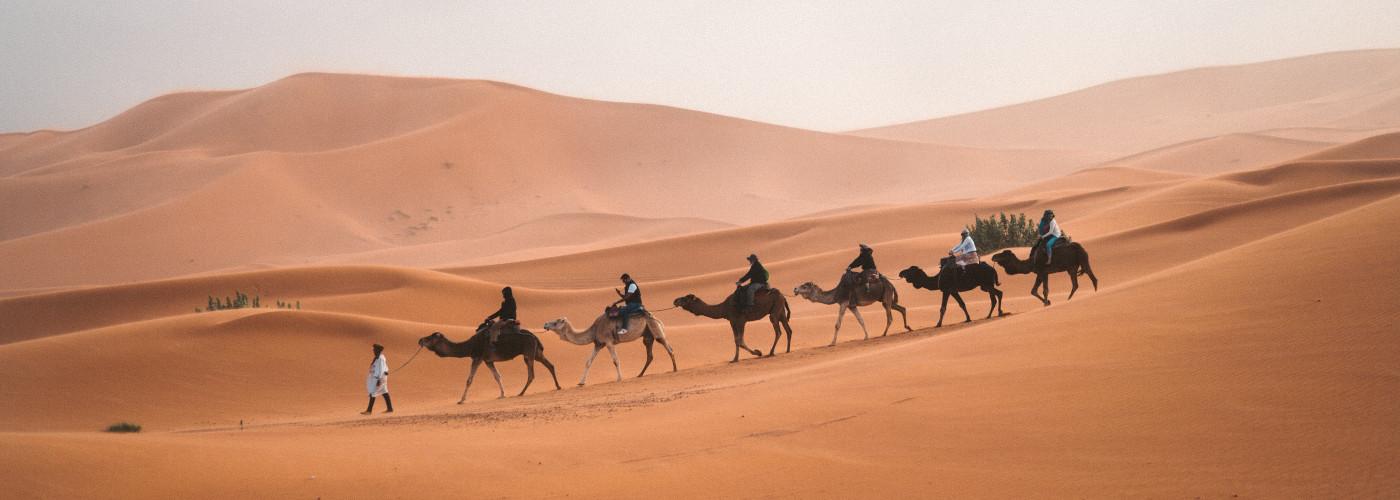 Karawane durch Marokko