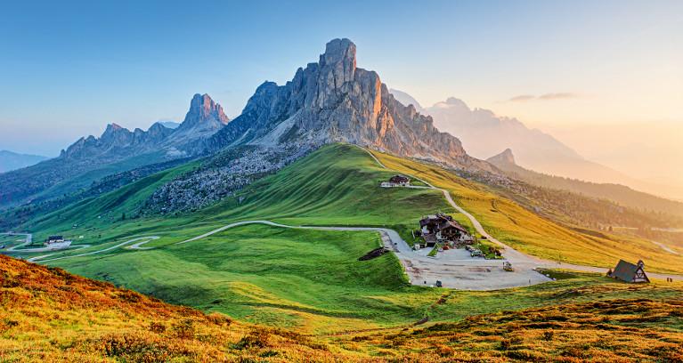 Panoramatour durch die Ostalpen