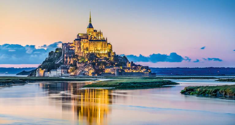 Aussicht auf Le Mont-Saint-Michel