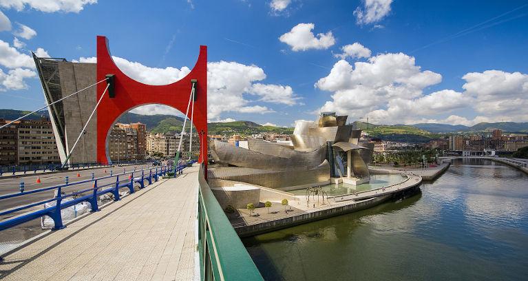 Aussicht über Bilbao
